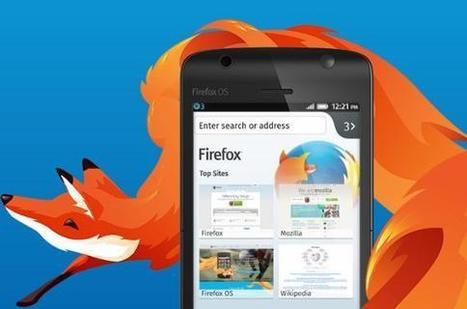 Mozilla présente un « Firefox phone » à 25 dollars - Les Échos | netnavig | Scoop.it