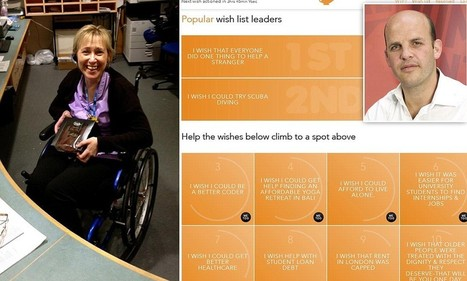 Crowdsourcing website Crowdwish.com is making real wishes come true - Daily Mail | Peer2Politics | Scoop.it
