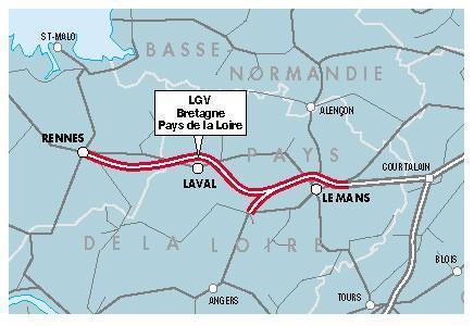 "LGV Bretagne : RFF place la barre haut | ""green business"" | Scoop.it"