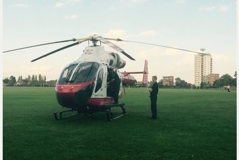 Air ambulance called to Melbourne Park after pensioner is hurt | Essex Discount Card News & Offers | Scoop.it