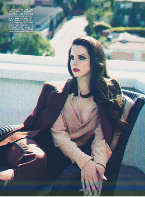 The Young & Beautiful Lana Del Rey Poses For L'Uomo Vogue (PHOTOS) - Global Grind | Lana Del Rey - Lizzy Grant | Scoop.it