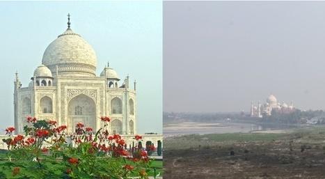 Taj Mahal, Parthénon, Pyramides: à quoi ressemblent les merveilles quand on élargit le cadre de la photo?   Slate   Les lieux de légendes, d'hier et d'aujourd'hui   Scoop.it