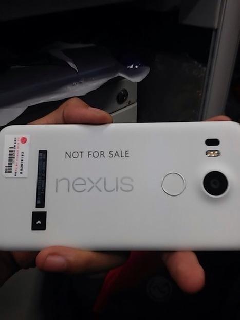 Se filtra la primera imagen del nuevo Nexus 5 de Google | Mobile Technology | Scoop.it