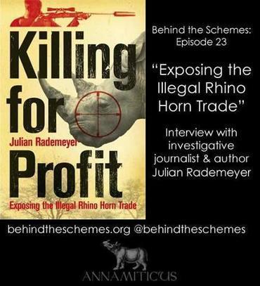 Behind the Schemes:... | Facebook | Save our Rhino and all animals...this is what it looks like!!!!! | Scoop.it