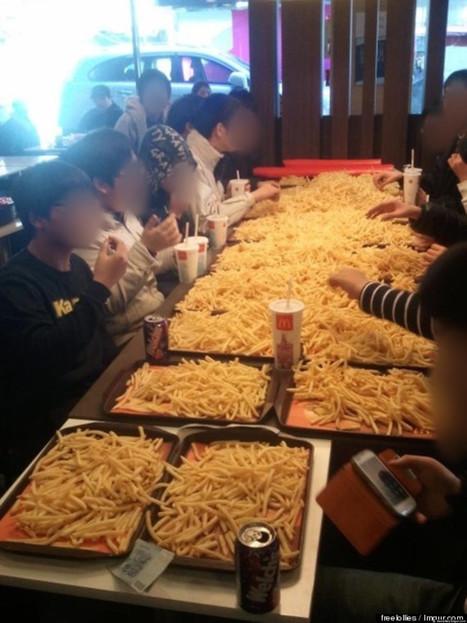 Ils commandent 200 euros de frites dans un McDo et se font virer | Un peu de tout et de rien ... | Scoop.it