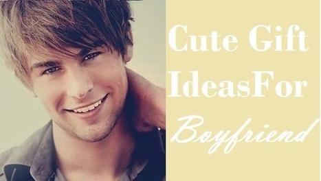 10 Cute Gift Ideas for Boyfriend | Gift Clown | Best Birthday Planners | Scoop.it