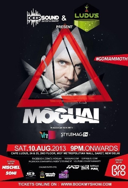 Events in Delhi with MOGUAI Live on Saturday 10t | Events In India | Scoop.it