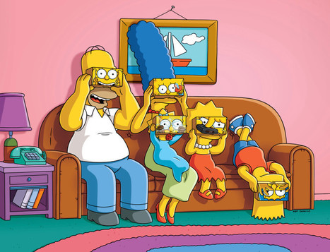 The Simpsons Couch Gag Goes VR For 600th Episode | 3D Virtual-Real Worlds: Ed Tech | Scoop.it