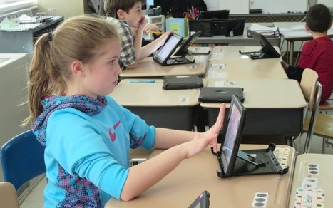 Glued to the screen: A third grade class where kids spend 75% of the day on iPads - The Hechinger Report | Education | Scoop.it