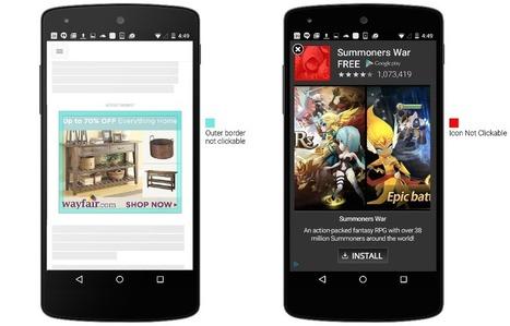 Les publicités sur mobile deviendront plus difficilement cliquables | Mobile marketing - Mobile advertising - M commerce | Scoop.it
