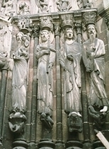 Images of the West Portal, Cathedral of Notre Dame, Senlis, France. | Desde las Catacumbas hasta las Catedrales Medievales | Scoop.it
