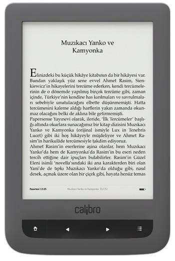 Yerli bir Kindle olan Calibro piyasaya sürülmüş | Kindle Haberleri | Scoop.it