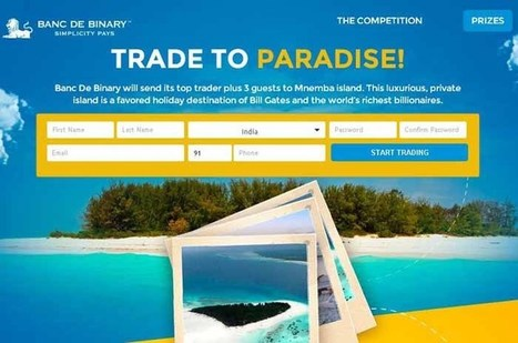 Trade To Paradise Promotion | Binary Options Demo Account | Scoop.it