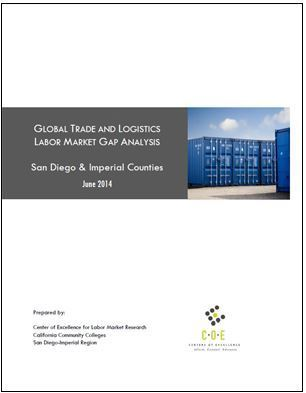 Global Trade and Logistics: Labor Market Gap Analysis: San Diego and Imperial Counties, June 2014   International Trade   Scoop.it