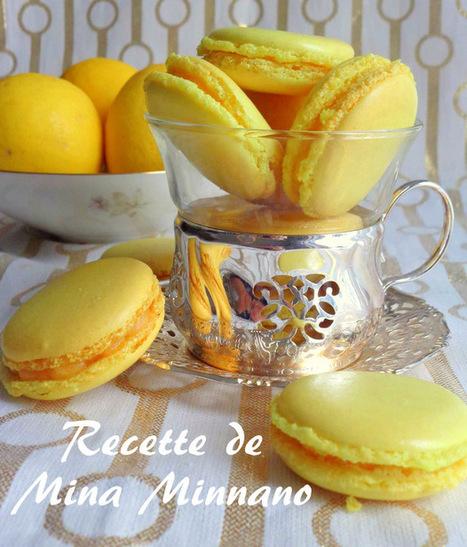Macarons au lemon curd | gateaux algeriens 2016 | Scoop.it