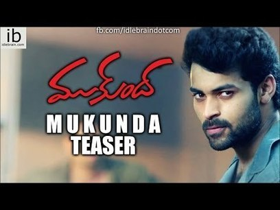Varun Tej's Mukunda teaser - idlebrain.com HD | Tollywood Latest News Updates-Gossips-Movie Releases-News Updates | Scoop.it