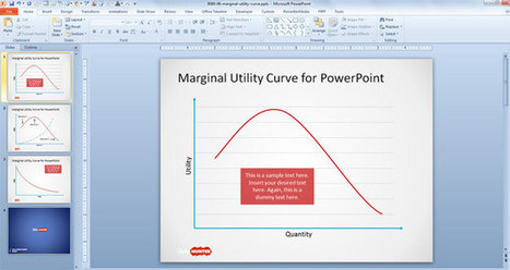 Free Marginal Utility Curve for PowerPoint - Free PowerPoint Templates | Free Business PowerPoint Templates | Scoop.it