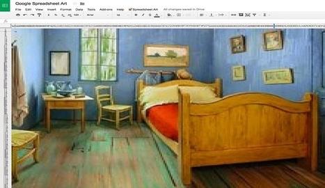 Pixel art creadas con hojas de Google - Nerdilandia   Contenidos Digitales   Scoop.it