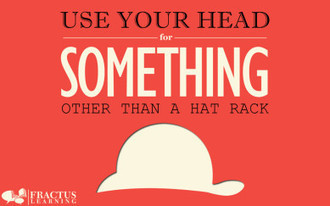 Use Your Head – Classroom Poster and Wallpaper   Revolutionizing Technology in Education   Scoop.it