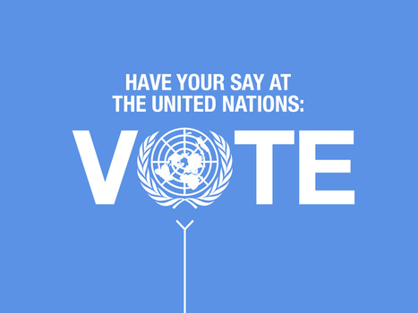 Have your say in the United Nations Global Vote | E-solidarity | Scoop.it