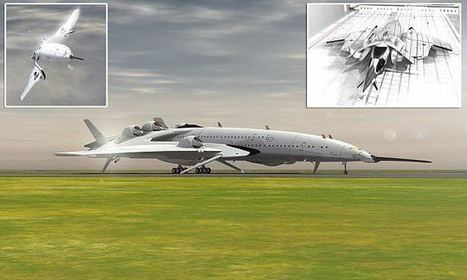 The supersonic plane that looks like a spaceship   Miscellaneous Topics   Scoop.it