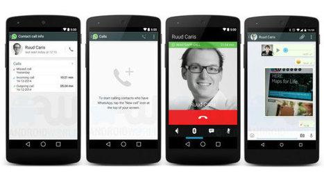 WhatsApp, nuovi indizi sull'arrivo delle chiamate vocali - Wired.it | Sms gratis | Scoop.it