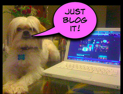 Just Blog It! Blogging Tips & Ideas | The Daring Librarian | School Library | Scoop.it