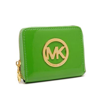 Shop Michael Kors Jet Set Continental Large Green Wallets at Prettybagoutlet | Michael kors Wallets | Scoop.it