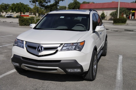 2008 acura mdx white | high definition cars wallpapers | Scoop.it
