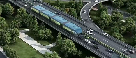 Chine : le tramway anti-embouteillage, une solution futuriste | Urbanisme | Scoop.it