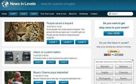 News in Levels, aprende o practica tu inglés escuchando noticias de actualidad | El Blog como herramienta tecnológica para el aprendizaje de un idioma | Scoop.it