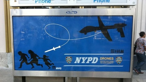 Meet the Street Artist Who's Wanted by the NYPD for Punking the Police with Fake Drone Ads | World of Street & Outdoor Arts | Scoop.it
