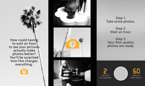 Fun 1-Hour Photo App Makes You Wait for Your iPhone Snaps to 'Develop' | smartphone photography | Scoop.it