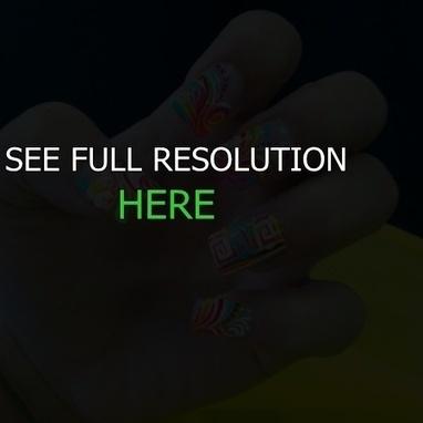 creative nail design acrylic kit | nail art | Scoop.it
