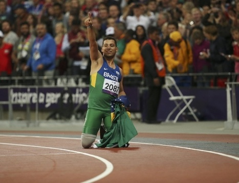 Alan Fonteles supera Oscar Pistorius e conquista o ouro nos 200 m rasos na classe T44 | esportes | Scoop.it