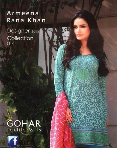 Exclusive Summer Party Wear Shalwar Kameez Collection For Young Girls By Armenna Khan From 2014 | Women Fashion | Women fashion | Scoop.it