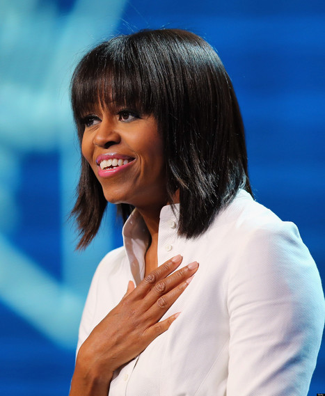 Michelle Obama Has Bangs: Let The Analyzing Begin - Huffington Post | Inspiration Simply | Scoop.it