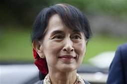 Myanmar's Suu Kyi visits London, Oxford on UK tour - Kansas City Star | English Learning House | Scoop.it