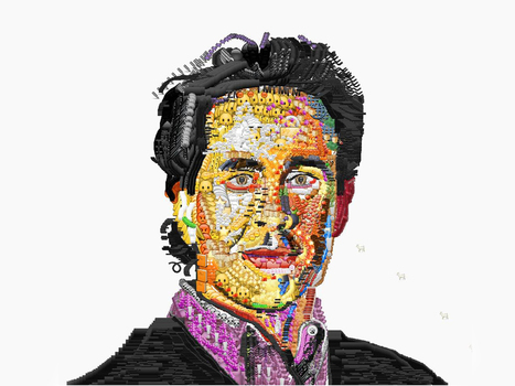 Celebrity Portraits Made Entirely Out of Emoji | WIRED | INTRODUCTION TO THE SOCIAL SCIENCES DIGITAL TEXTBOOK(PSYCHOLOGY-ECONOMICS-SOCIOLOGY):MIKE BUSARELLO | Scoop.it