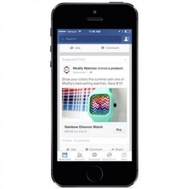 Facebook, bientôt un site de e-commerce ? | Widoobiz | Entrepreneuriat & E-commerce | Scoop.it