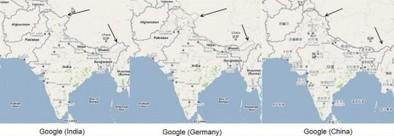 Comment Google modifie les frontières selon le pays de connexion | Rue89 | CLEMI. Infodoc.Presse  : veille sur l'actualité des médias. Centre de documentation du CLEMI | Scoop.it