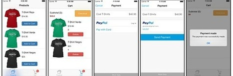Example: A Store Front/Shopping Cart App Using The Paypal iOS SDK | Xcode with attitude | Scoop.it