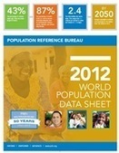 2012 World Population Data Sheet - Population Reference Bureau | GEP Global perspectives on population for the classroom | Scoop.it