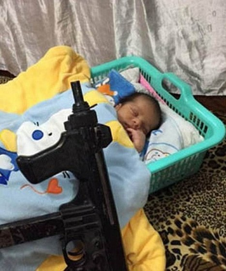 Keeping up with the jihadis - Mothers living under ISIS post photographs of their children and newborn babies next to guns on social media in sickening game of one-upmanship | Focus World News - With Fillie Focus | Scoop.it
