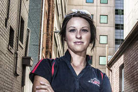 Female tradies follow their dreams in a man's world - The Age | carpentry | Scoop.it