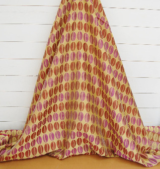 WHOLE ROLL DEAL 10 M'S modern jacquard with pocketed voile leaf pattern for curtains & soft furnishings. | Welcome to Discount Fabrics Lincs | Scoop.it