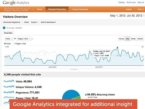Learning Management System Reporting with Google Analytics | Social learning, Collective Intelligence and Learning | Scoop.it