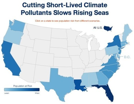 Cutting Short-lived Pollutants Can Slow Sea Level Rise | green infographics | Scoop.it