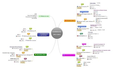 Le Mind Mapping au service de votre recherche d'emploi | Blog Signos | Management | Scoop.it