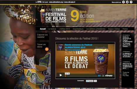 ALIMENTERRE - Festival de films documentaires | URBANmedias | Scoop.it